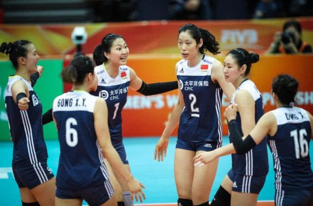 中国女排四连胜进世锦赛六强